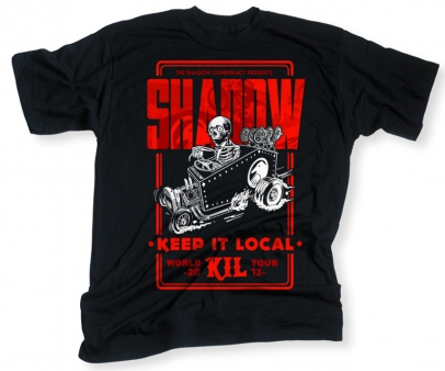 Shadow KIL World Tour Negru S - 1